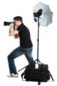 DIY-fotografi belysningskrav för ett porträtt