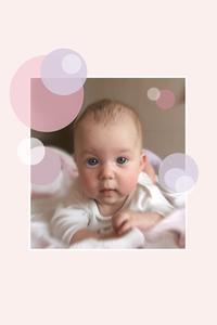 Mors dag konstprojekt för spädbarn