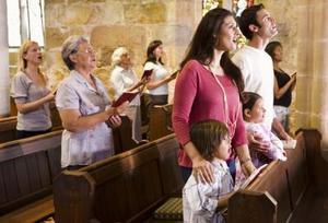 Gratis saker att hålla besökarna behandlande kyrka