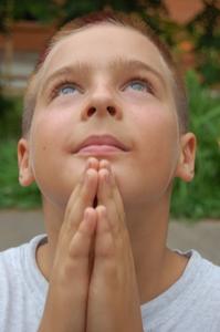 Hur att lära barn hur man gör ett Herrens bön bokmärke