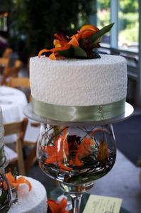 Hur att dekorera bröllopstårtor med Cooman spets