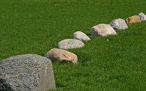 Hur jag landskap med klippor & stenblock?
