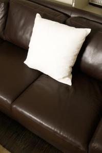 Hur man kan inreda ett vardagsrum med en läder soffa