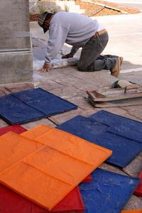 Hur installera golvvärme över befintlig betong