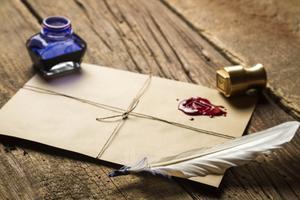 Hur man gör egna kuvert vax tätning