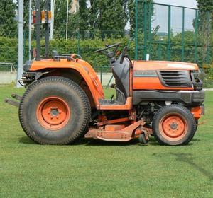 Hemgjord traktor Hjulvikter