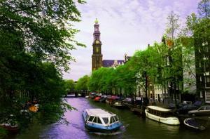 Hur får runt Amsterdam på de billiga